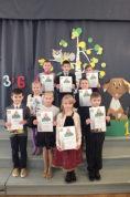 Konkursa dalībnieki no O.Vācieša Gaujienas vidusskolas